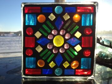 More Stained Glass Mosaic Blocks!!