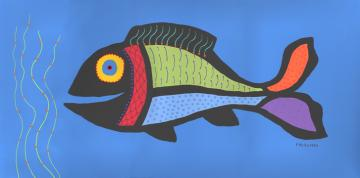 New Fish and Owls paintings