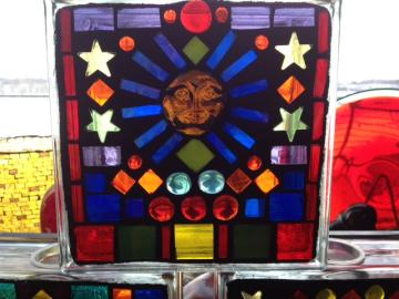 More Stained glass mosaics!