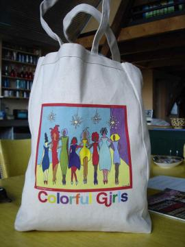 ColorfulGirls Care! 100% Cotton Canvas Bags!