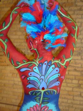 "Body Painting... ""Body of Art"" event was fabulous"